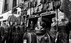 Human after all (Howard Yang Photography) Tags: mannequin bw blackandwhite camden camdentown camdenmarket london leicam 28elmarit