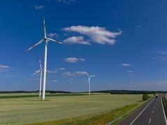 Windernergie (Ralph Ueschner) Tags: wittstock windrad technik energie energy darktable brandenburg deutschland