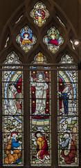 Scarborough, St Mary's church, window (Jules & Jenny) Tags: scarborough stainedglasswindow stmaryschurch