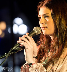 Elise Trouw @ Upstream 2018 (Kirk Stauffer) Tags: kirk stauffer photographer nikon d5 adorable amazing attractive awesome beautiful beauty charming cute darling fabulous feminine glamour glamorous goddess gorgeous lovable lovely perfect petite precious pretty siren stunning sweet wonderful young female girl lady woman women live music tour concert show gig song singer songwriter vocals performer musician band lights indie long brown hair brunette teen red lips eyes white teeth model tall fashion style portrait photo smile smiling playing electric guitar bass drums piano