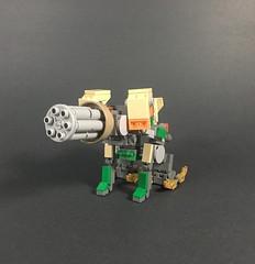 Lego Bastion (ExplosiveTortuga) Tags: overwatch moc lego videogame video game bastion transformer