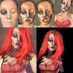 Body painting progress! By @lenniedin (ineedhalloweenideas) Tags: halloween body painting makeup make up ideas for 2017 happy night before christmas october 31 autumn fall spooky paint art creepy scary horror pumpkin boo artist goth gothic amazing