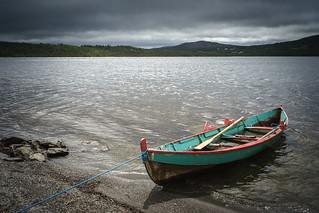 Colorful rowboat