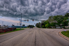 Storm Moving In (kendoman26) Tags: hdr nikhdrefexpro2 nikon nikond7100 tokinaatx1228prodx tokina tokina1228 stormclouds morrisillinois sky