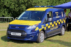 HM Coastguard Brand New Ford Transit Connect Search And Rescue Van (PFB-999) Tags: hm coastguard ford transit connect search and rescue van vehicle unit lightbar grilles fendoffs leds hx18cyj day 2018