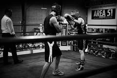 34362 - Hook (Diego Rosato) Tags: boxe pugilato boxelatina boxing ring match incontro nikon d700 2470mm tamron bianconero blackwhite hook gancio pugno punch