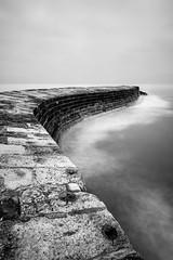 Strong (Mark Boadey) Tags: coast defence dorset lymeregis sea thecobb