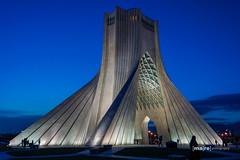 Azadi Tower (ma|re photo) Tags: iran teheran wahrzeichen azadi tower landmarks hossein amanat cultural complex shahs memorial borje āzādi برج آزادی