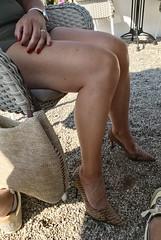 MyLeggyLady (MyLeggyLady) Tags: sex hotwife milf sexy upskirt secretary teasing minidress thighs cfm pumps stiletto legs heels