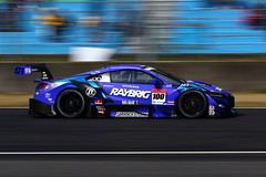 No.100 RAYBRIG NSX-GT with TEAM KUNIMITSU (kikupom) Tags: supergt sgt motorsports race gt500 nsx