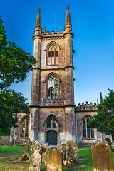 Hungerford Church (smithadam830) Tags: church landscape hungerford building sky bluesky grass graveyard
