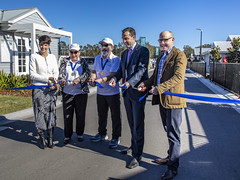 Opening Latitude One (vk2gwk - Henk T) Tags: annabay portstephens ingenialifestyle latitudeone over55 village retirement opening official event