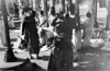 img178 (Höyry Tulivuori) Tags: india 1970 street life people cars monochrome men women child 70s vintage seventies temple city country индия улица чернобелое автомобиль дома народ быт