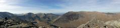 Tryfan Panorama (radio53) Tags: wales snowdonia llanberis mountain a5 tryfan