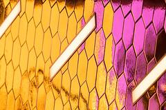 Subway Tiles (josullivan.59) Tags: wallpaper 3exp reflection texture toronto tamron150600 telephoto yellow urban interior ontario pattern artistic architecture detail day dof geometric light canon6d minimalism ttc tiles