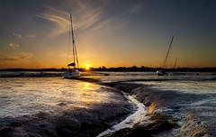Down and Dirty (Solent Poster) Tags: landscape seascape sunset sunrise emsworth chichester harbour june 2018 dji phantom 4 pro plus drone aerial djiphantom4proplus
