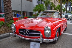 25th Annual Rodeo Drive Concours D'Elegance (JCD Images) Tags: 25th silveranniversary rodeodrive concoursdelegance beverlyhills california usa fathersday june 2018 autos automobile cars classiccars vintage street bentley cadillac chevrolet chrysler ford kurtis mercedesbenz plymouth porsche chrome custompaint hdr 1958 300sl roadster