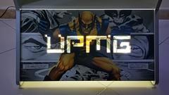 Bartop Top e Base Top UPMG - Tema Marvel (Ultra Power Mega Game) Tags: bartop marvel arcade fliperama hyperspin recalbo multijogos jogos games game