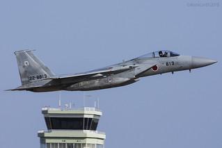 Japan Air Self Defence Force, McDonnell Douglas F-15J Eagle, 22-8813.