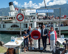 Collect Ride of Paddle Steamer PS Stadt Luzern on Lake Lucerne, Seedorf UR, Switzerland (jag9889) Tags: 2018 20180623 boat ch cantonuri cantonofuri centralswitzerland collection dampfschiff europe flagship helvetia historic innerschweiz kantonuri lake lakelucerne lakelucernenavigationcompany outdoor overhaul paddlesteamer people sgv sgvag schifffahrtsgesellschaftdesvierwaldstättersees schweiz seedorf ship station suisse suiza suizra svizzera swiss switzerland ur uri urnersee vessel vierwaldstättersee zentralschweiz jag9889