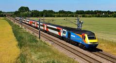 EMT - 43064 and 43075 (dgh2222) Tags: hst class 43 43064 43075 1y86 ecml hambleton uk railways