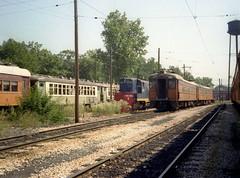 South Shore Michigan City yards 9-2-78 6 (jsmatlak) Tags: chicago south shore line csssb michigan city indiana shops railroad train electric interurban nictd