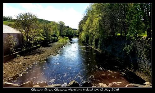 Glenarin River, Glenarm Northern Ireland UK 12 May 2018