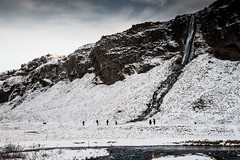 Islande, Skógafoss, 26 (Patrick.Raymond (5M views)) Tags: islande cascade hdr froid gel hiver nikon skogafoss