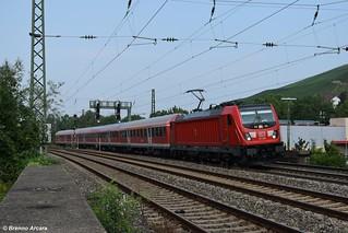 BR 147 008 DB, Stuttgart Untertürkheim (D)