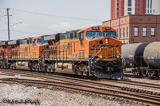 BNSF 7835 | GE ES44DC | BNSF Thayer South Subdivision