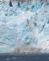 Watch for Falling Ice Blocks... Calving Glacier (Journey CPL) Tags: ice glacier calving water splash alaska