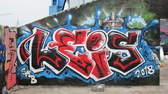 Leis / Dok Noord - 16 jul 2018 (Ferdinand 'Ferre' Feys) Tags: gent ghent gand belgium belgique belgië streetart artdelarue graffitiart graffiti graff urbanart urbanarte arteurbano ferdinandfeys