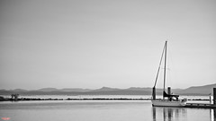 Serenity (MBates Foto) Tags: availablelight blackandwhite boating daylight existinglight harbor monochrome nikkorlens nikon nikond810 nikonfx outdoors travel water steveston britsihcolumbia canada