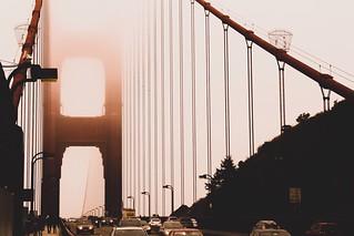 Foggy days in San Francisco