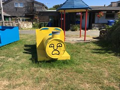 Thomas has clearly seen stuff (dark_dave25) Tags: isle wight camping holiday summer hot scorching 2018 june