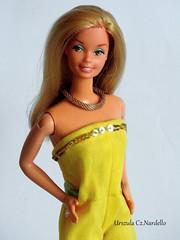 Barbie SuperStar ooak Hawaiian (Urszula Cz.Nardello) Tags: barbie superstar ooakdoll ooak repaint custom