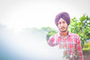 Reflections (VikramDeep) Tags: poses nonconventional kaur singh photography portraits bokeh canon eos550 50mm f18 kids fun weekend india sikh punjab punjabi turban reflections newtechnique coolr