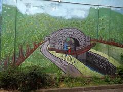 LE VELOCIPEDE (marsupilami92) Tags: irlande eire meath navan jettours leinster vélocipède grandbi pont murpeint streetart