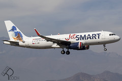 CC-AWB / JetSMART / Airbus A320-232(WL) (Peter Reoch) Tags: aircraft aviation airline air plane aeroplane landing scl santiago airport chile ccawb jetsmart airbus a320232wl a320