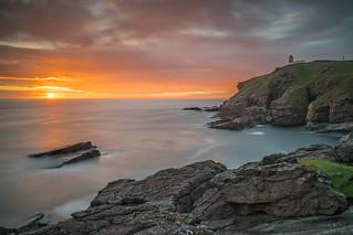 An Assynt Sunset ..