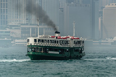 Still doing its Job - Hongkong 166/188 (*Capture the Moment*) Tags: 2017 fog hongkong mist sonya7m2 sonya7mii sonya7mark2 sonya7ii sonyfe70200mmf28gmoss sonyilce7m2 starferry foggy misty