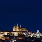 Prag Burg Blaue Stunde thumbnail