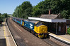 37407 - 2C60 - Reedham - 30.06.2018 (Tom Watson 70013) Tags: br blue large logo class37 37407 reedham station drs direct rail services ga greater anglia short set