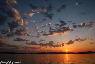 Sunset , Raunefjorden