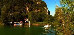di ritorni a casa (balenafranca) Tags: lavenapontetresa varese lombardia italia lago lake ceresio lugano estate summer acqua water verde green colours colori