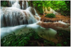 Water fall (=Heo Ngốc=) Tags: nature park leaf landscape jungle spring stream waterfall wild water vacation tropical green scenic fall beautiful forest fresh freshness wonderful background wet waterscape wallpaper vibrant view wood beauty river si tat laos cool motion travel outdoor foliage healthy heaven light rock abstract tree environment exotic sea space