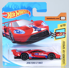 """HOT-2018-195-Ford-GT (adrianz toyz) Tags: hot wheels diecast toy model car 2018 series """"adrianz toyz"""" ford gt race 195 legendsofspeed adrianztoyz"""