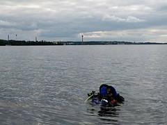 Sokeritopalla Näsijärvellä #näsijärvi #scuba #sukellus