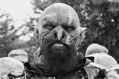 The Orc (jan.ashdown) Tags: costume portrait medievalfestival lordoftherings festival tewkesbury cosplay orc