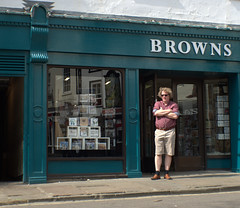 Candid at Browns, York (Tony Worrall) Tags: yorkshire yorks york northyorkshire street streetphotography urban candid people person capture outside outdoors caught photo shoot shot picture captured picturesinthestreet photosofthestreet update place location uk england north visit area attraction open stream tour country item greatbritain britain english british gb buy stock sell sale browns shop man